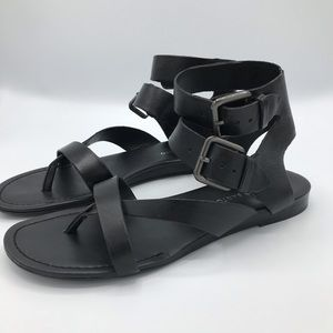 Franco Sarto double strap sandals